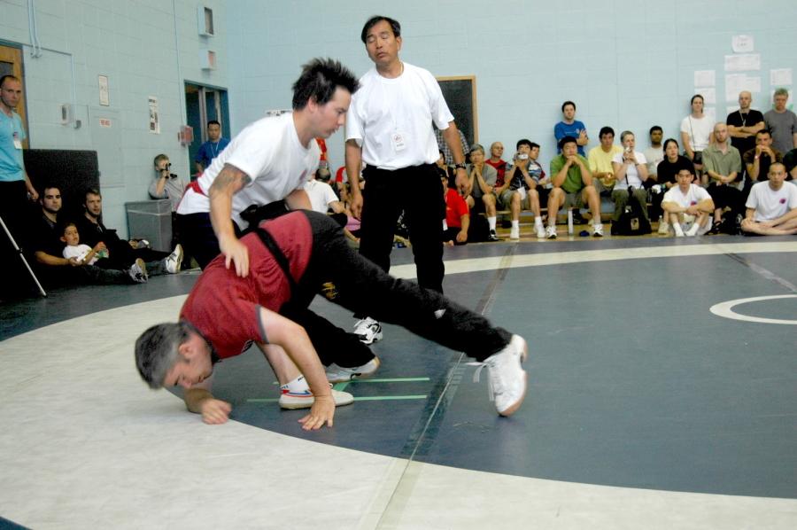 Ji Hong Tai Chi dominates push hands competition in Pan American Championship