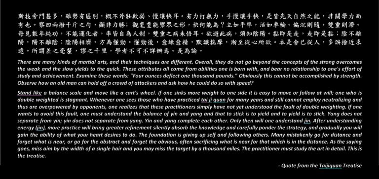 The Taijiquan Treatise Explained: Part 3 of 3 (太極拳論-3)