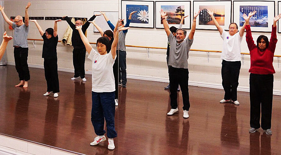 A Comparison of Qi Gong versus Tai Chi