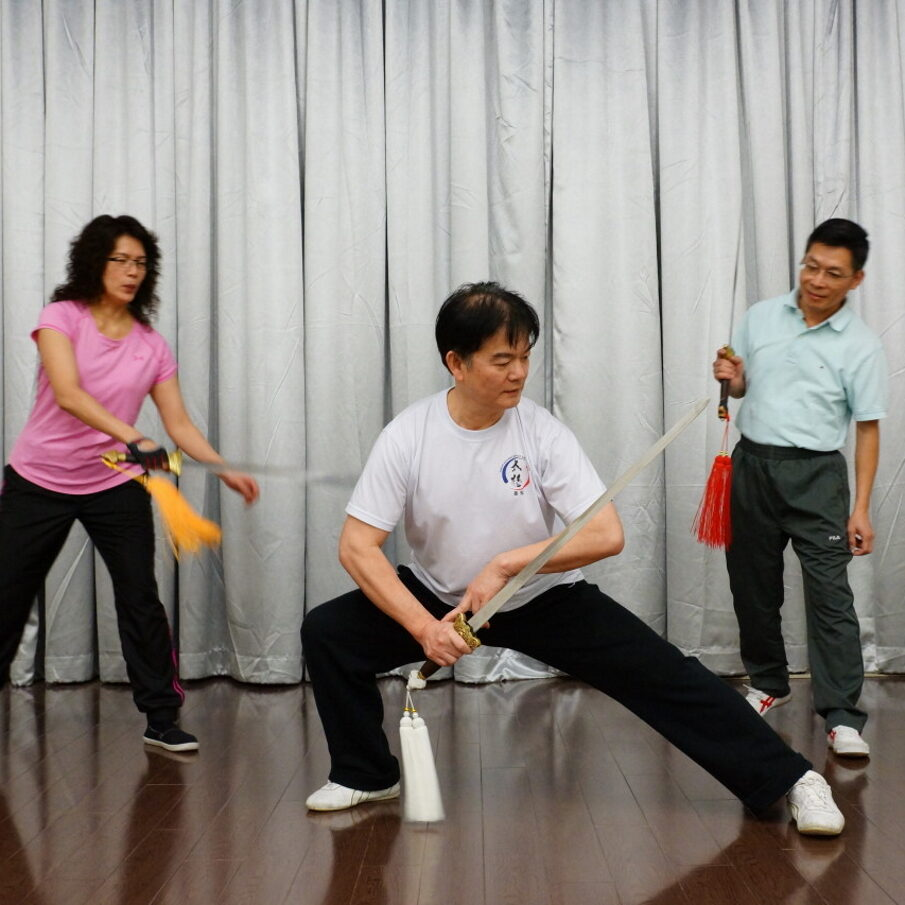 Why People Learn Tai Chi Sword